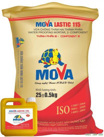MOVA LASTIC 115 ( A+B) VỮA CHỐNG THẤM VÀ BẢO VỆ