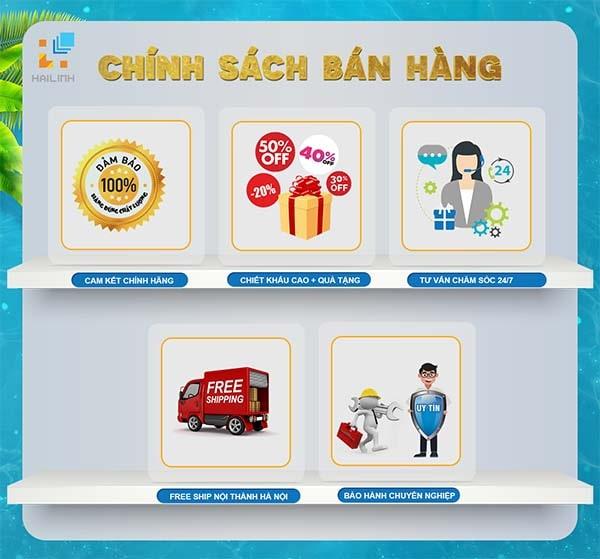 Chính sách bán hàng của Hải Linh